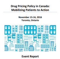image of Event Report  - Drug Pricing Policy in Canada: Mobilizing Patients to Action
