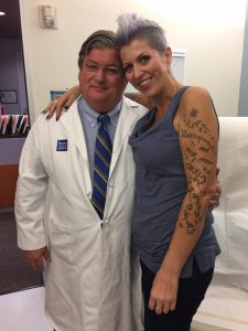 Heather Von Saint James with Doctor Sugarbaker