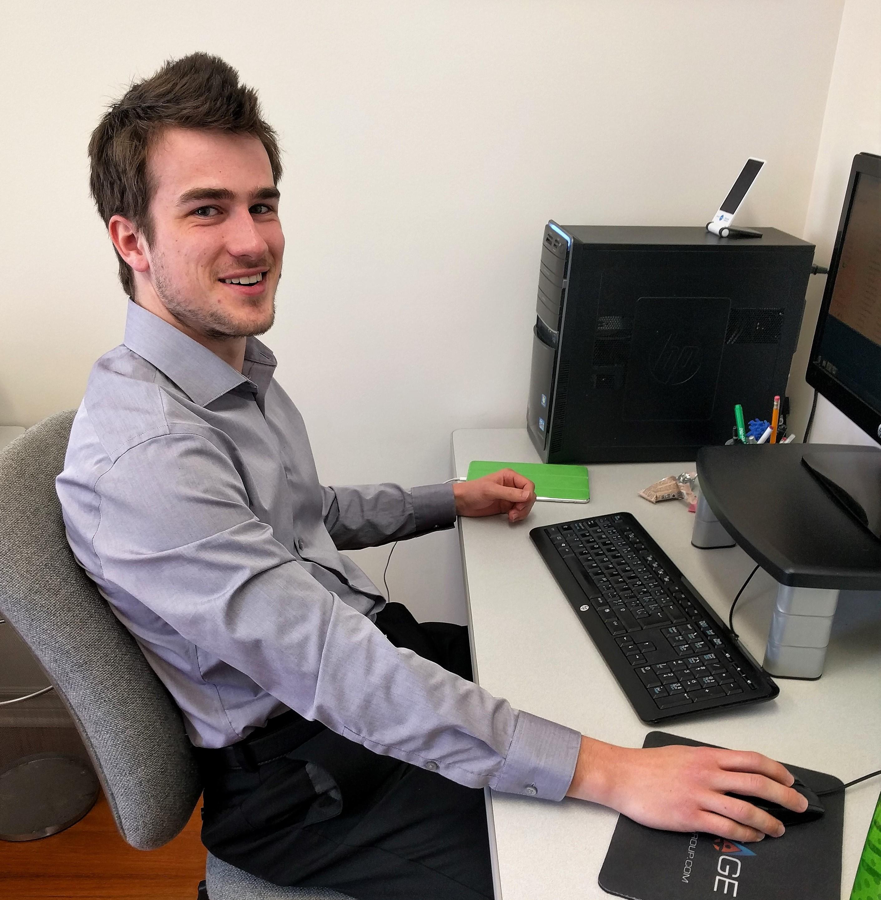 Conrad Eder, Community Outreach Assistant (Summer Staff)
